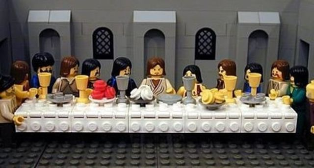 "Pop Culture Spoofs of ""The Last Supper"""