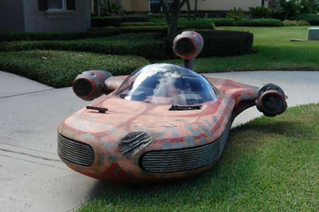 Fictional Vehicles Recreated in Real Life