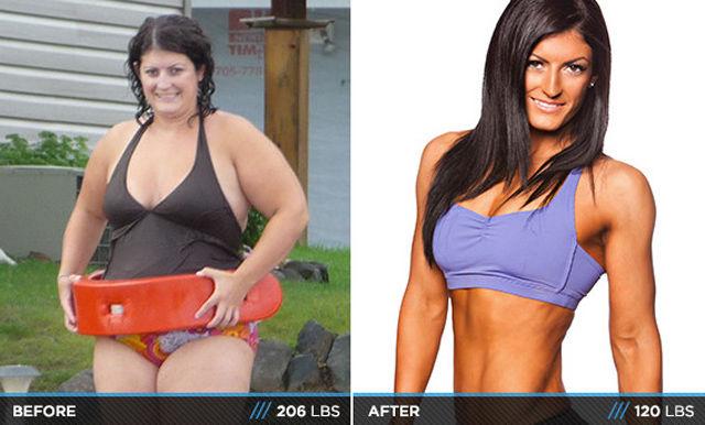 похудевшие люди после проекта взвешенные люди