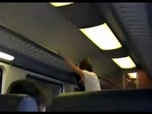 Epic Way of Getting a Free Train Ride