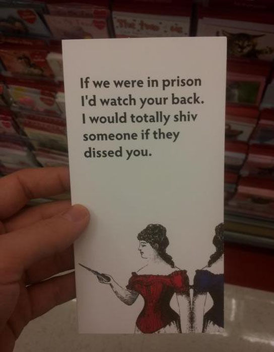 Not Your Average Valentine's Day Card