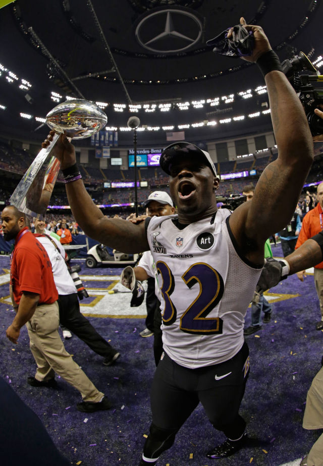 Pure Joy as the Ravens Win the Super Bowl
