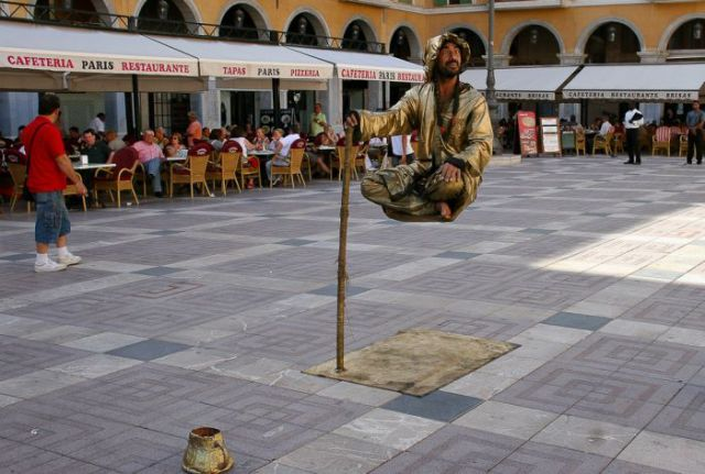Real-life Acts of Levitation