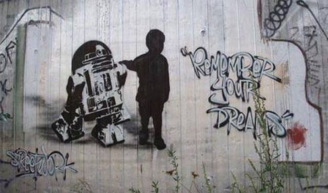 Creative Star Wars Themed Street Art