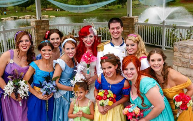 The Devil's in the Details of this Disney Themed Wedding