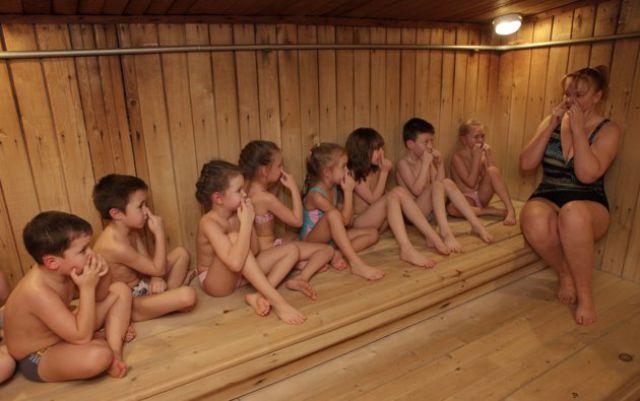 Bizarre Practice of Russian Kindergarten