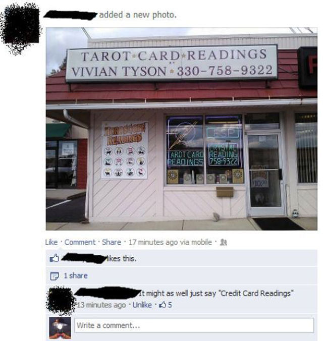 Facebook: The Meeting Place of Idiots