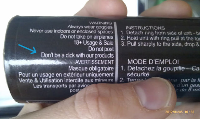 Instructions that Really Insult Our Intelligence