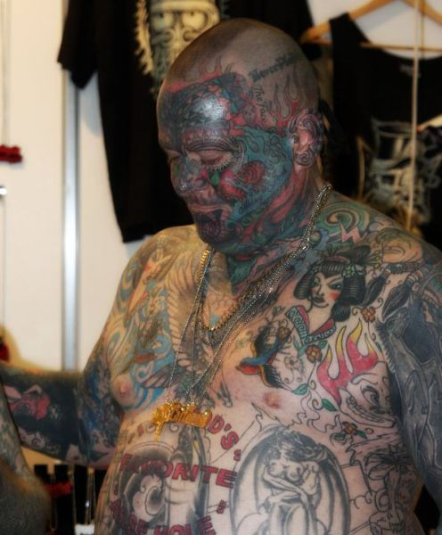 Crazy Tattooing Extremists