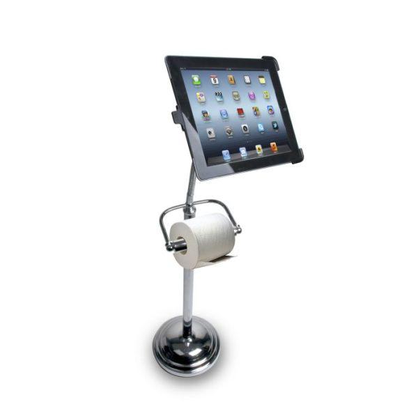 A Bathroom Inspired iPad Stand Design
