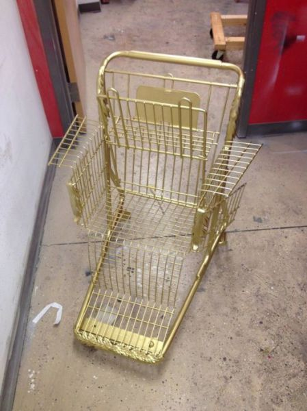 Make Your Own Shopping Cart Throne