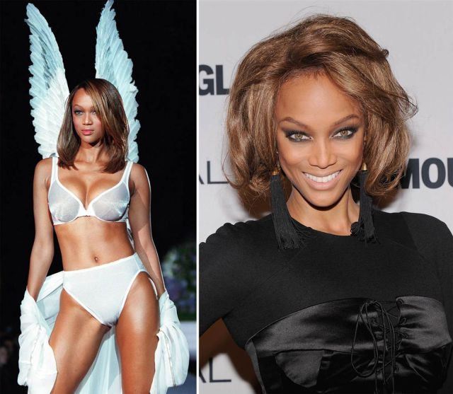 Past vs. Present in these Supermodel Photos