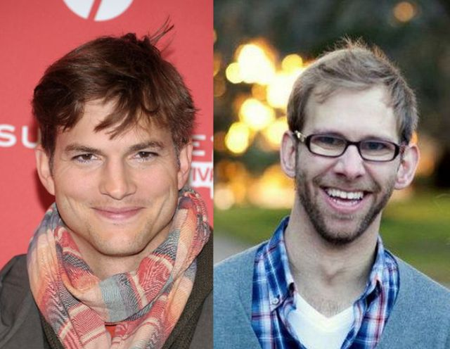 Surprising Celebrity T... Ashton Kutcher Brother