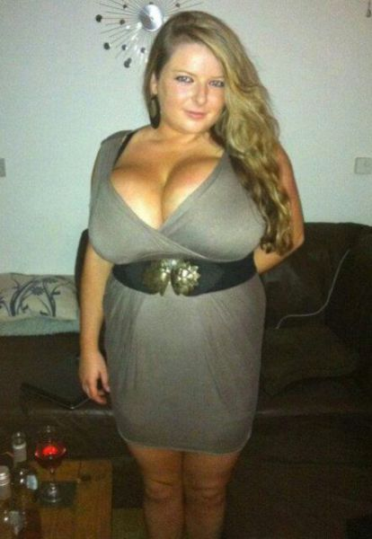 An 18 Year Old Girl with Truly Ginormous Knockers