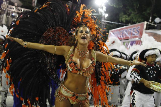 Carnival Fun on the Streets of Rio 2013