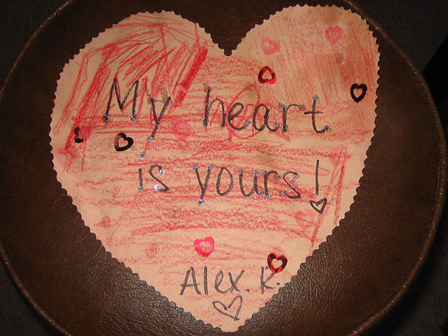 Top 10 Totally Frank Valentine's Day Cards from Kids