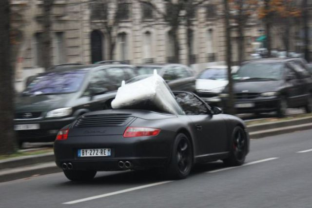 What a Novel Use of the Porsche 997 Carrera S Convertible