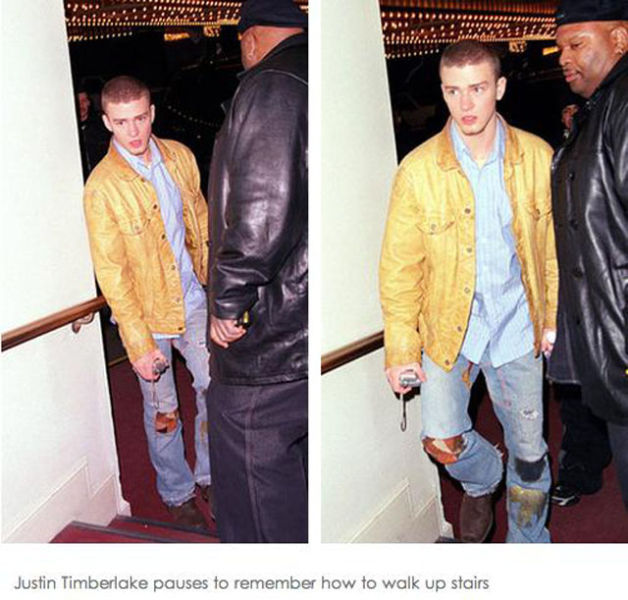 Out and About with Justin Timberlake