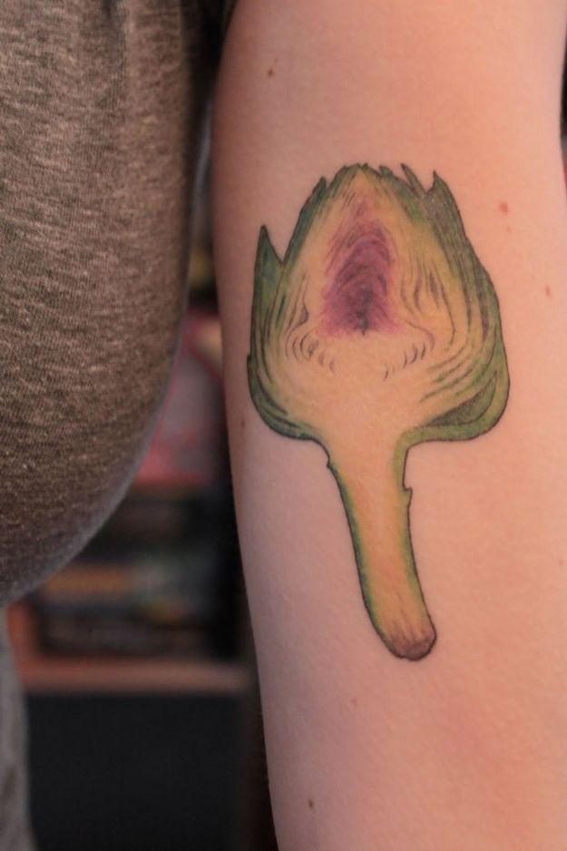 People Who Love Food So Much, They Tattoo It