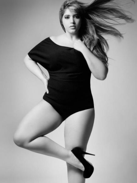 Quickly answered plus size model denise bidot are