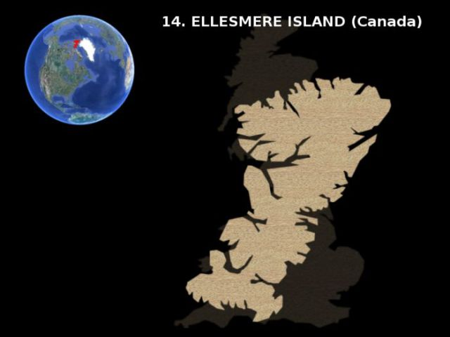 The Biggest Islands on Earth