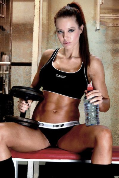 Fitness Chicks Are Always Gorgeous. Part 2