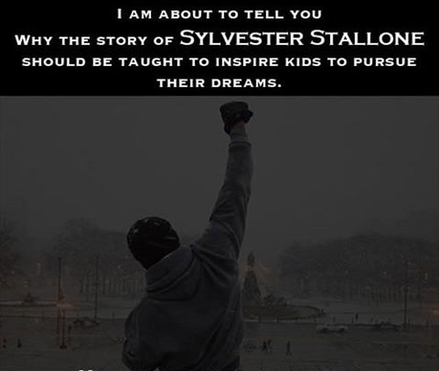 Why Sylvester Stallone is an Inspiration to Us All