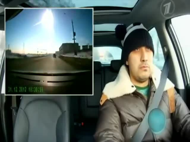 Classic Russian Reaction to the Meteorite