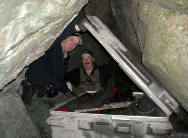 A Private Cave Hides a Massive Illegal Hoard