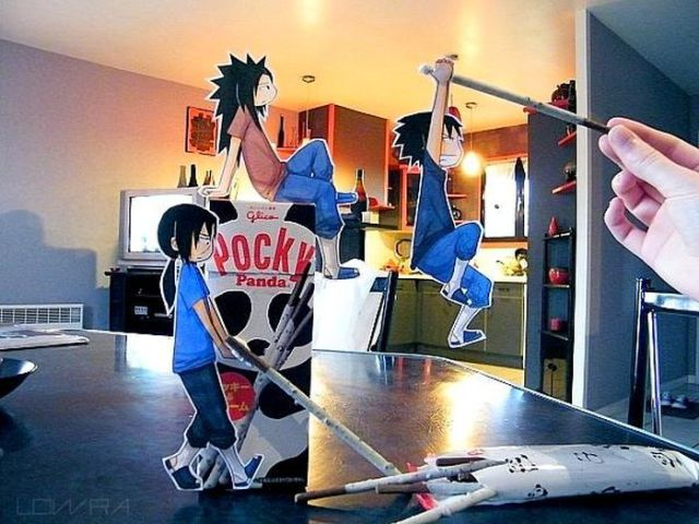 Cool Cartoon Cardboard Cut-Outs