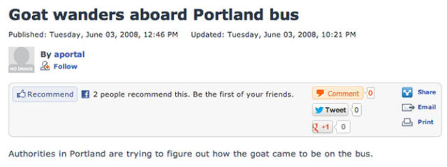 Only in Portland!