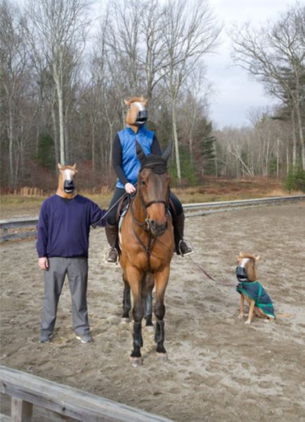 Keeping the Horse Mask Trend Alive