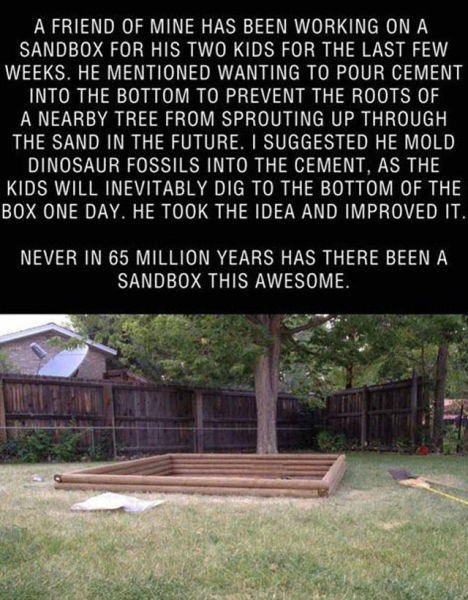 Awesome Archaeological Sandpit for Kids