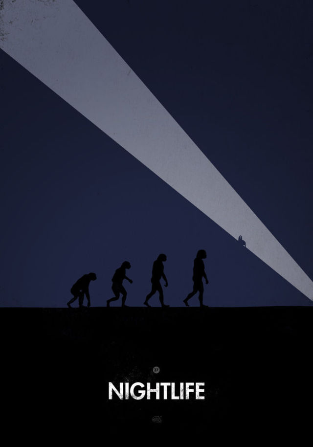 Clever Reproductions of the Evolution of Man Imagery