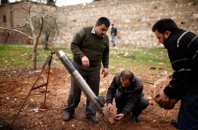 Improvised Weapons and Artillery of the Syrian Rebels