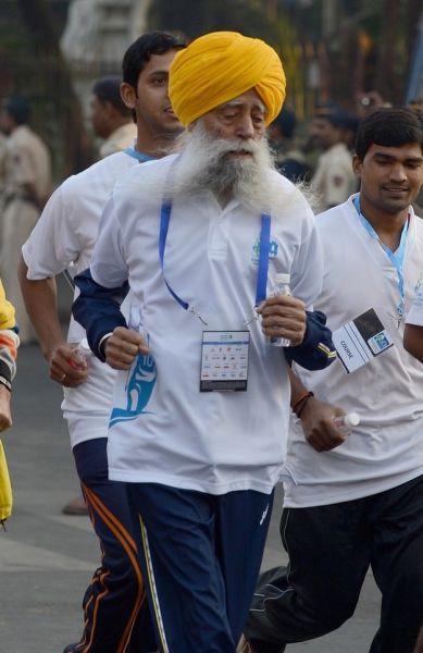 The World's Oldest Marathon Runner