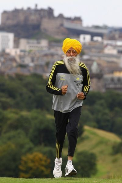 The World's Oldest Marathon Runner
