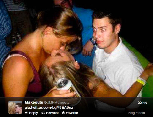 Twitter's Top College Make-Outs Pics