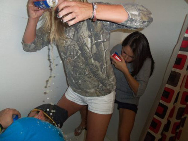 College Fun with No Restraints. Part 5