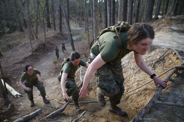 Kick-Ass Female US Marines