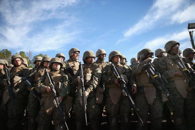 Kick-Ass Female US Marines
