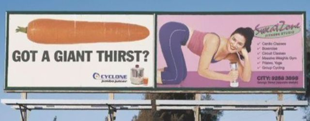 Misplaced Advertisements Take on Hilarious New Meanings
