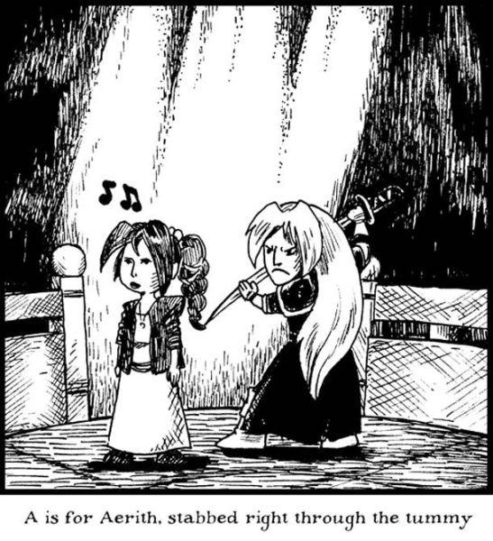 Rhyming Alphabet Comic
