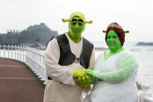 An Unusual Wedding Day with a Fun Twist