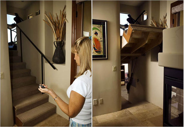 Creatively Camouflaged Secret Rooms