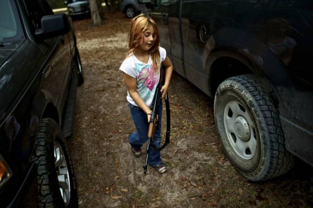 Would You Train Your Child to Use a Gun?