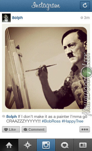 If Historical Figures had Instagram