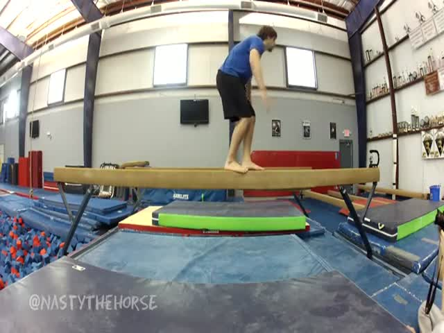 This Is Why You Should Let Balance Beam to Girls!