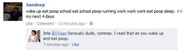Worst Comma Fails Ever
