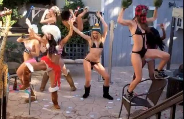 The Harlem Shake Bikini Girls Compilation